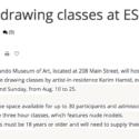 Life Drawing Classes at ESMoA El Segundo
